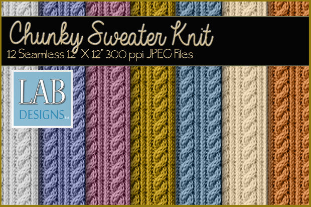 chunky knit sweater textures1
