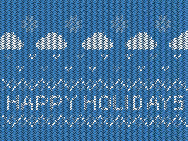 happy holiday sweater texture1