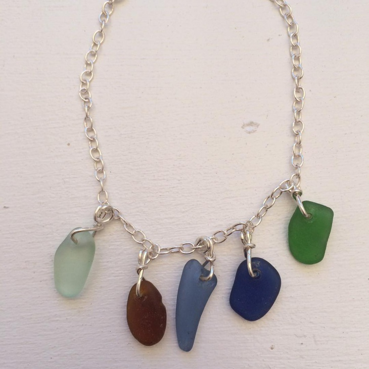 Sterling Silver Sea Glass Jewelery