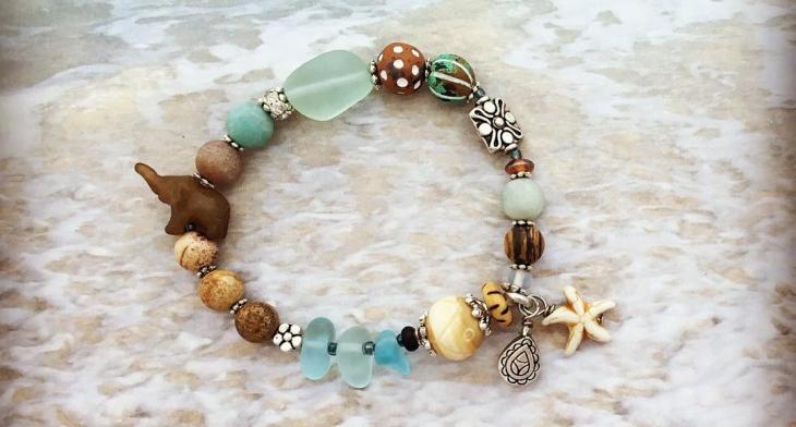 21 Sea Glass Jewelry Designs Ideas Design Trends Premium PSD
