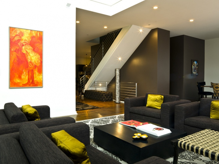 Living Room Colors For Dark Furniture dark living room decor - hypnofitmaui