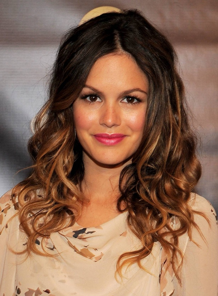 rachel bilson surf curly hair idea