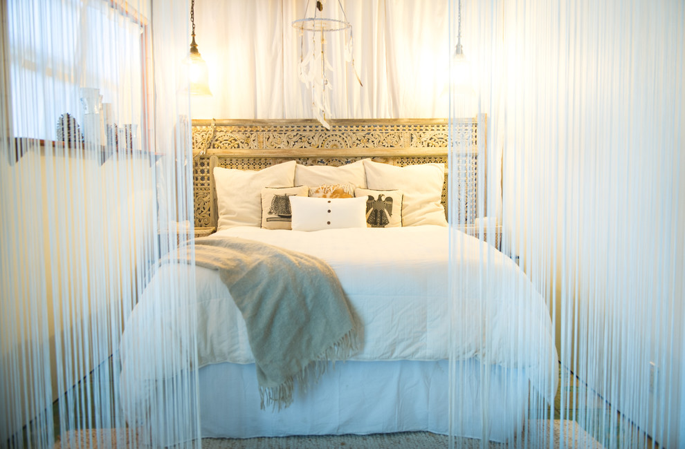 chic boho style bedroom design