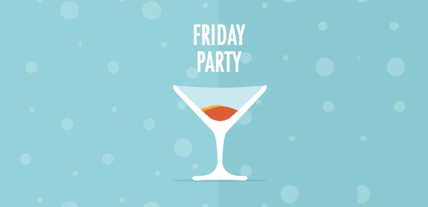 Friday Party Cocktail Icon