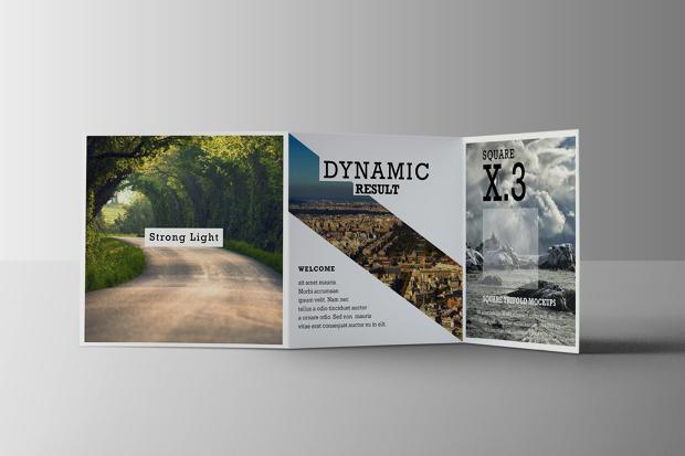 trifold square brochure mockups1