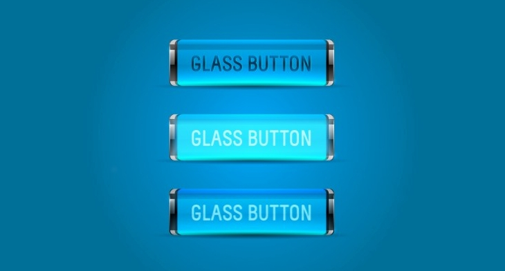 18+ Glass Buttons - PSD, EPS, Vector Format Download