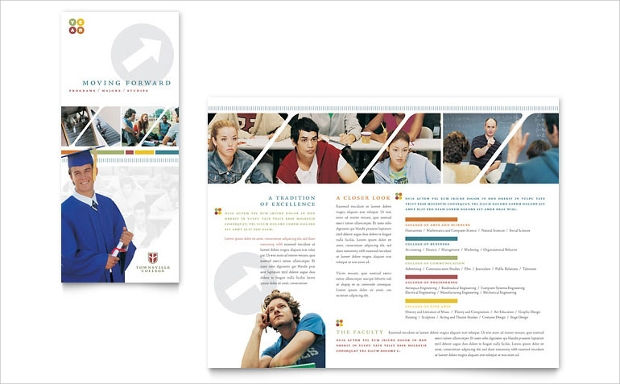Professional College Brochure Template