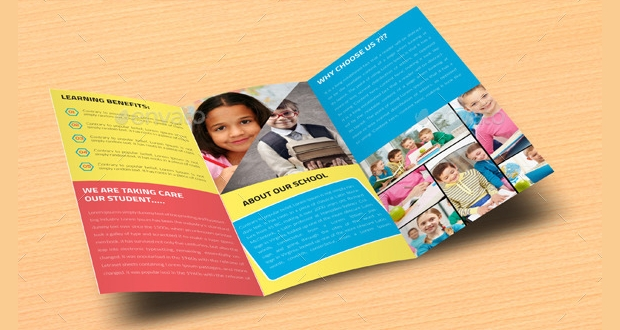 College Promotion Tri Fold Brochure