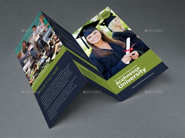 College A4 Brochure Design