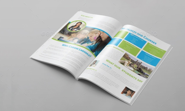 College Education Learning Brochure