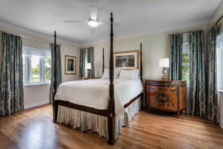 coral canopy bedroom design