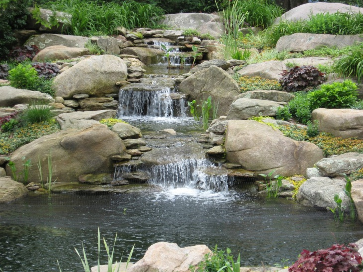 18 Garden Pond Designs Ideas Design Trends Premium