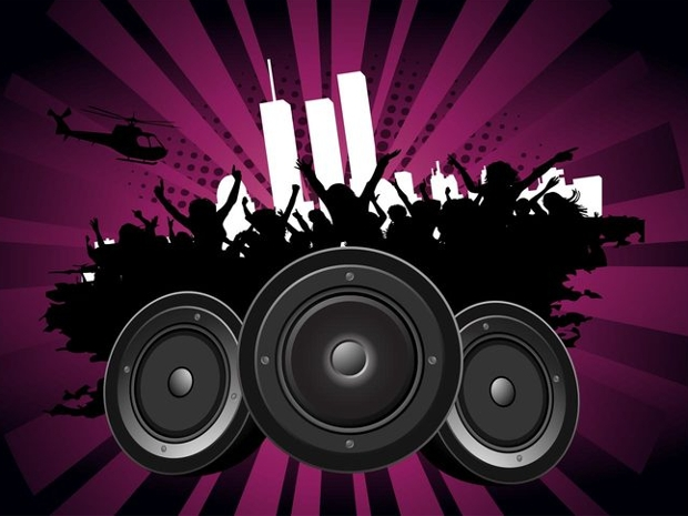 party footage vector