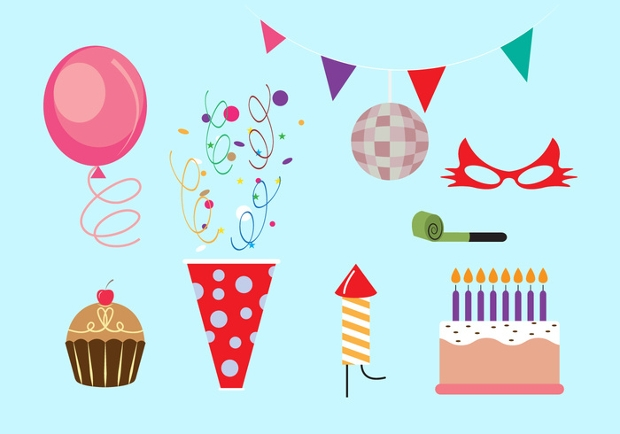 set of party elements vector
