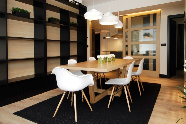 Contemporary Neutral Dining Room Design