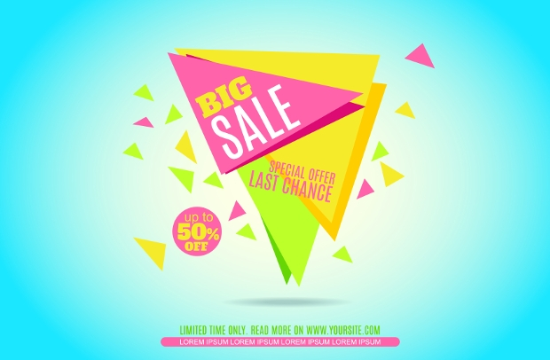 Sales Advertising Banners