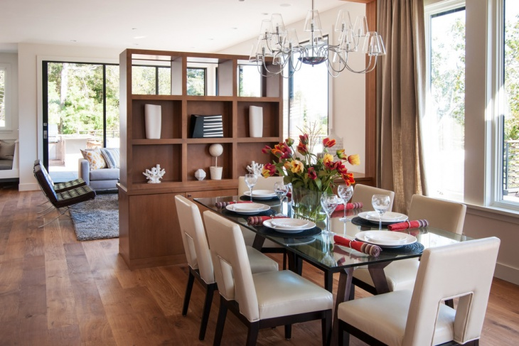 neutral dining room furniture