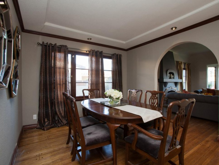 Hardwood Neutral Dining Room
