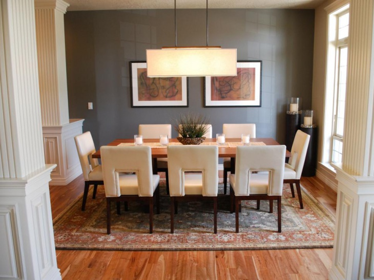 18 neutral dining room designs ideas design trends - Dining room wall decor ...