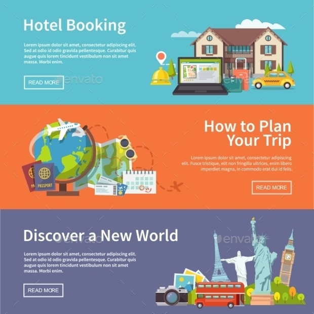 Travel Advertising Banners
