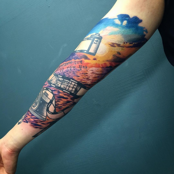 21+ Sunset Tattoo Designs, Ideas