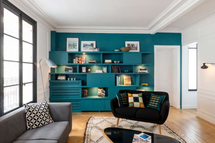 18+ Turquoise Living Room Designs, Ideas | Design Trends