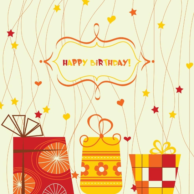 Creative Birthday Vector