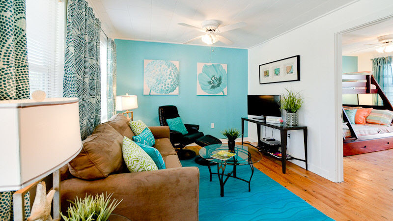 Turquoise Beach Living Room