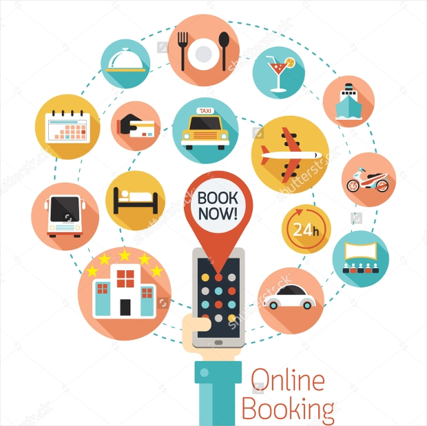 online booking icons