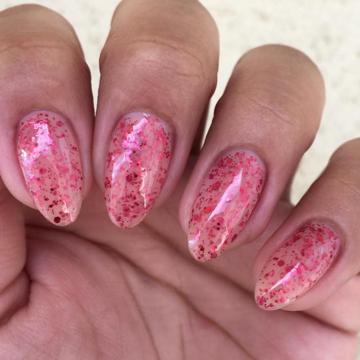 Glitter Zombie Nails