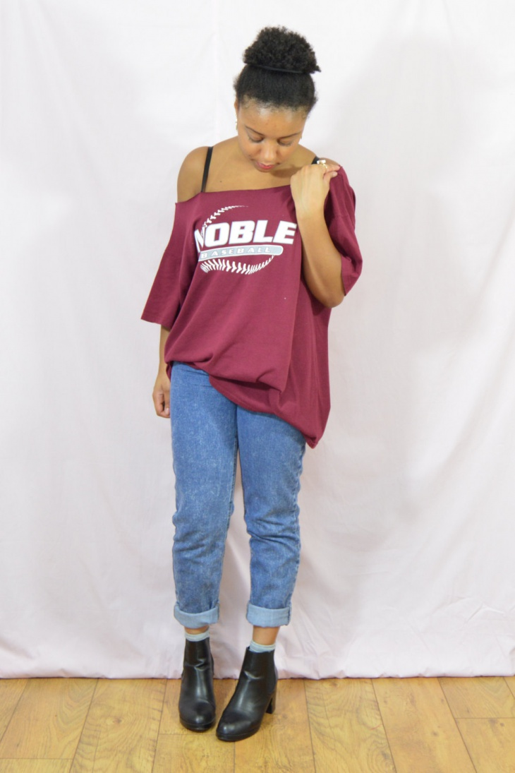 Noble Baseball Raw Cut T-shirt