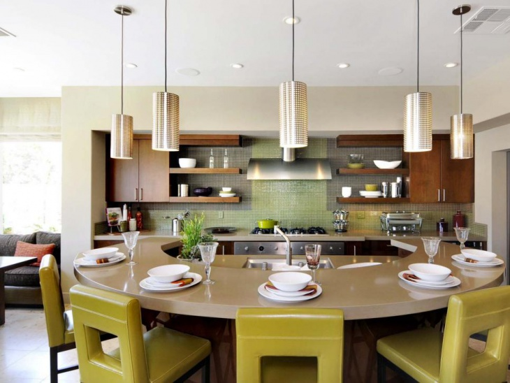 18 curved kitchen island designs ideas design trends stunning curved kitchen island ideas on2go