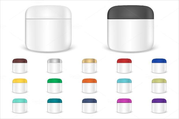 cream jar cosmetics packaging