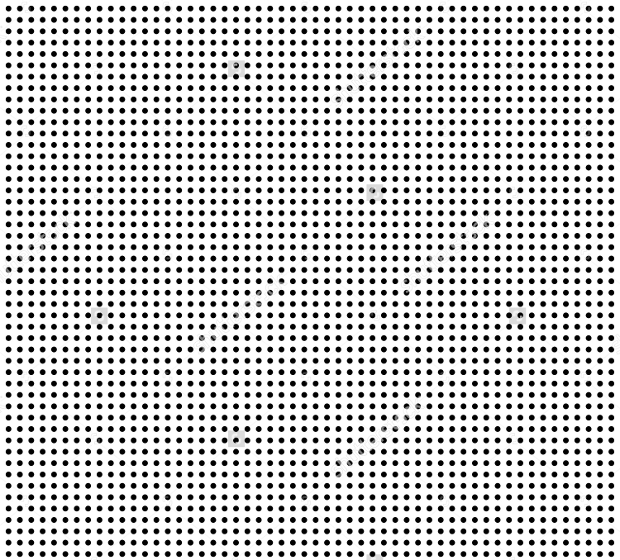 Symmetrical Dots Vector
