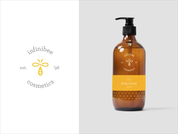 infinibee cosmetics packaging