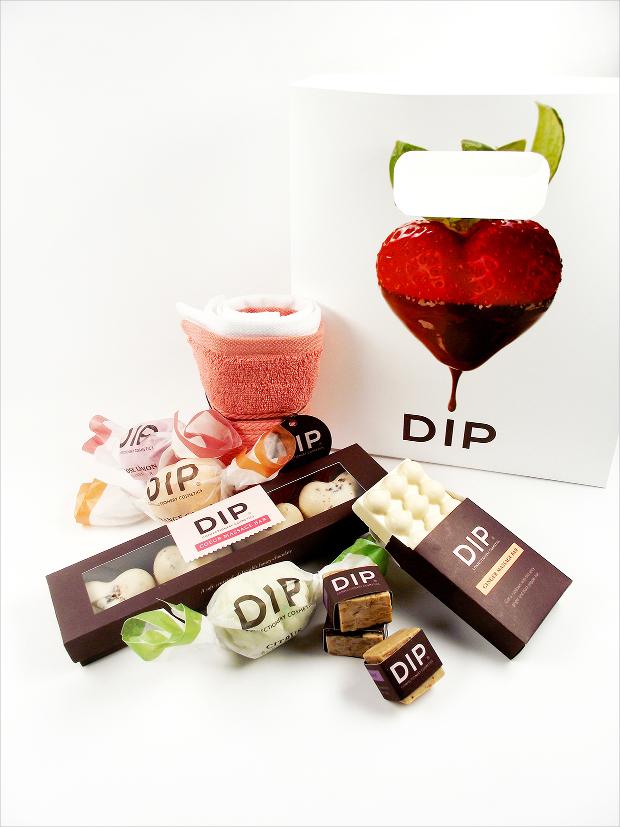 dip confectionery cosmetics
