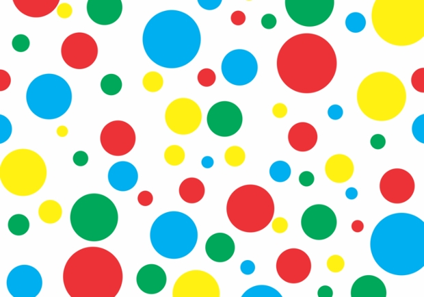 Twister Polka Dots Vector