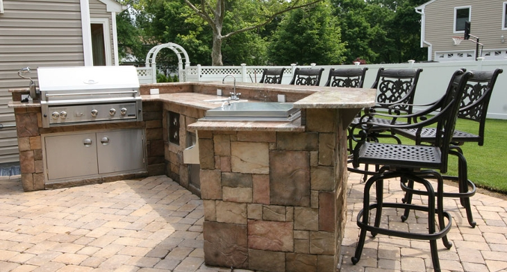 17+ Outdoor Kitchen Island Designs, Ideas | Design Trends - Premium on kitchen floor tile ideas, outdoor bar on-deck ideas, tile countertops for bar top ideas, outdoor bar countertop ideas, diy outdoor kitchen ideas, mexican tile outdoor patio ideas, outdoor bar top ideas, small outdoor kitchen ideas, kitchen tile backsplash ideas,