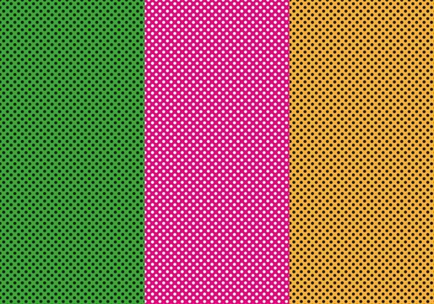 pink dot vector