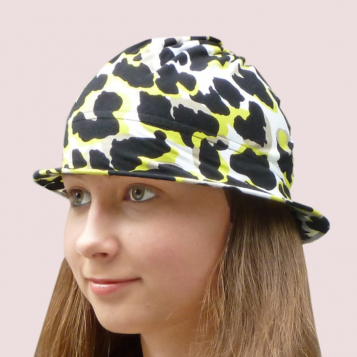 Neon Animal Print Hat