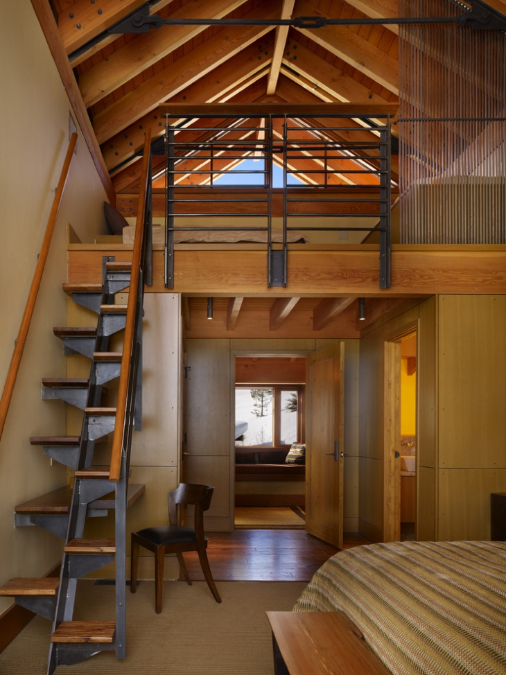 Wooden Lofts 18 Loft Staircase Designs Ideas  Design Trends  Premium Psd