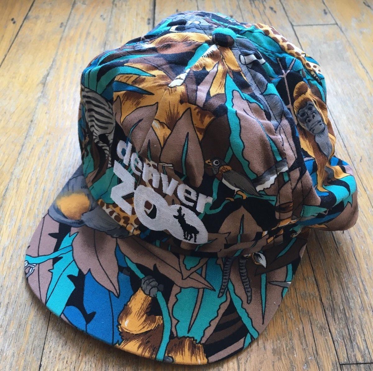 Vintage Animal Print Hat