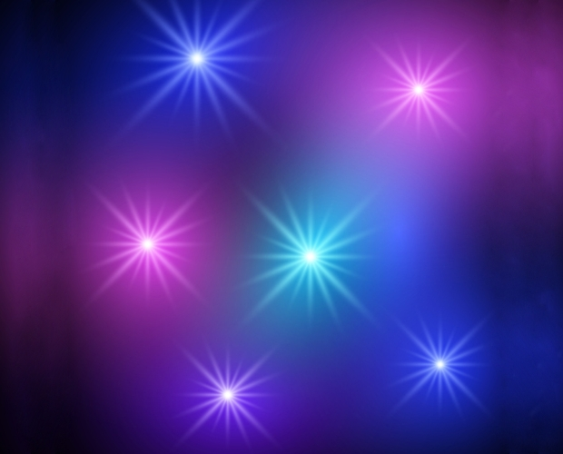 Sparkling Light Dot Vector