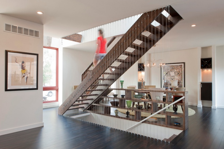 Traditional Loft Staircase Design