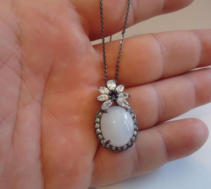 Vintage Moonstone Pendant