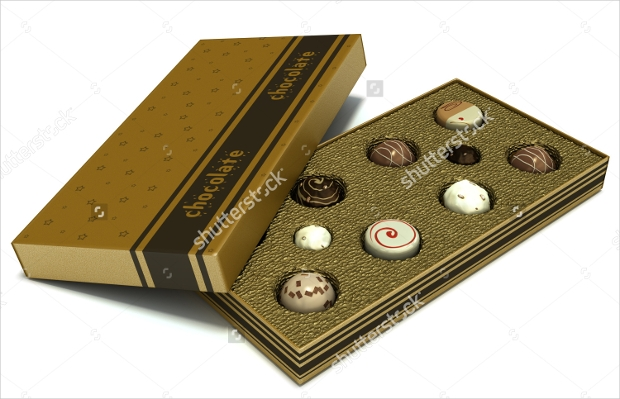 assorted chocolates Box Packaging