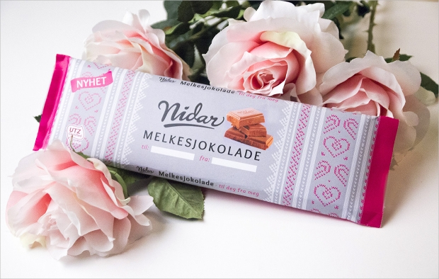 Valentine Chocolate Packaging Template