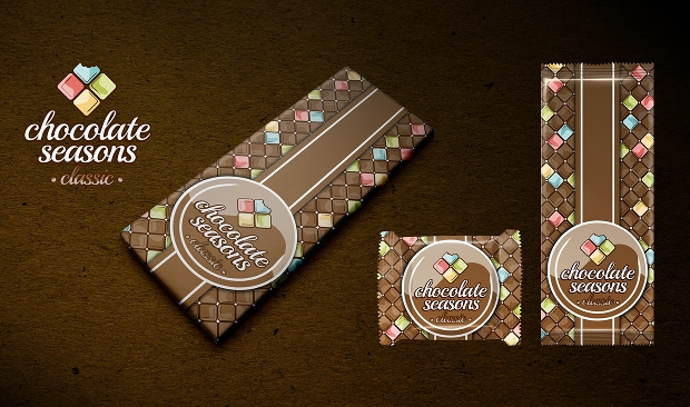 Chocolate Bars Packaging Design