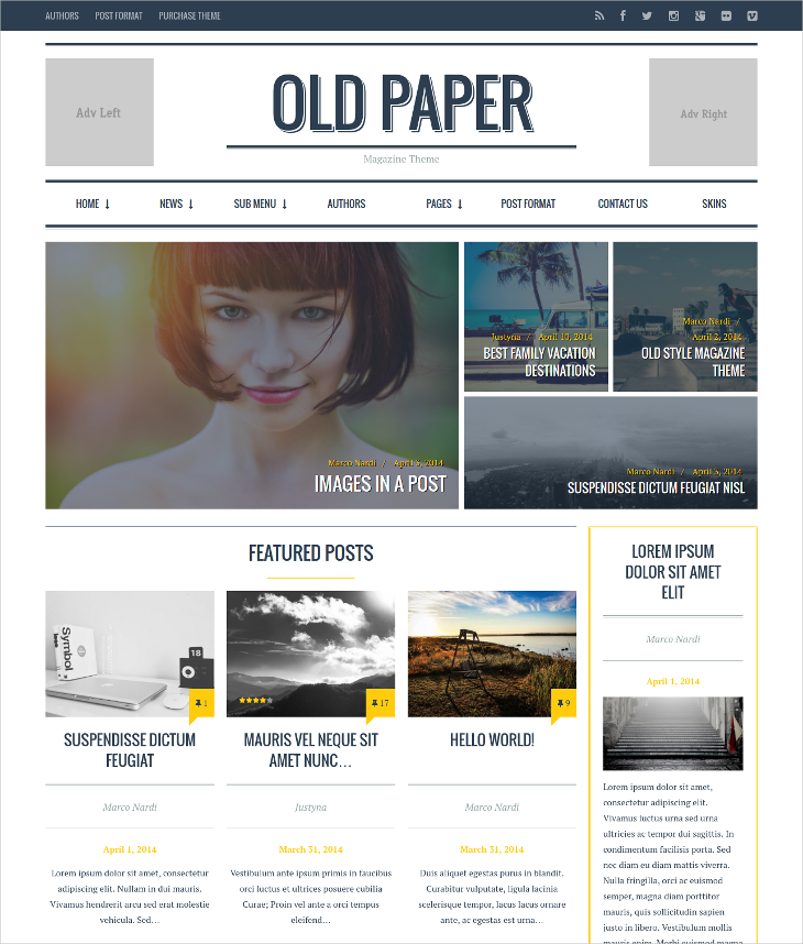 ultimate magazine blog theme