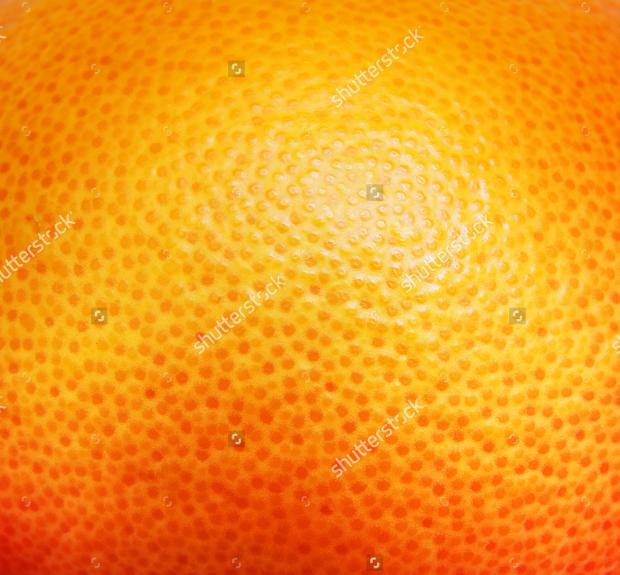 orange grapefruit texture